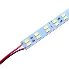 Светодиодная линейка BRT 5730-144 led W 2-pin 6500K, 12В, IP20 белый со скотчем