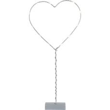 """Украшение новогоднее """"Сердце"""" на подставке STAR TRADING 700-33"""
