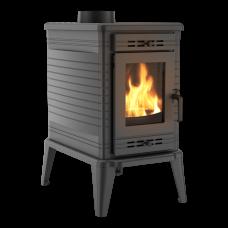 Чугунная печь-камин Kratki KOZA K10 Ø 150 ASDP (10,0 кВт)