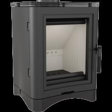 Стальная печь-камин Kratki KOZA K5 Ø 130 (7,0 кВт)