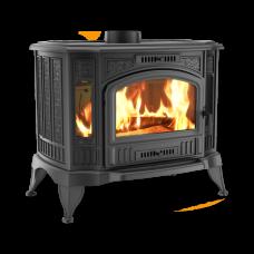 Чугунная печь-камин Kratki KOZA K9 Ø 150 ASDP (10,0 кВт)