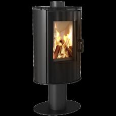 Стальная печь-камин Kratki KOZA AB S/N/DR GLASS (8,0 кВт)