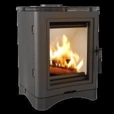 Стальная печь-камин Kratki KOZA K5 Ø 150 (7,0 кВт)