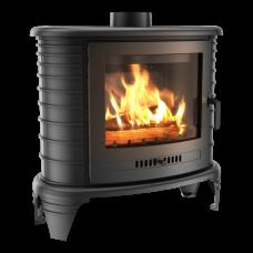 Чугунная печь-камин Kratki KOZA K8 ASDP (9,0 кВт)