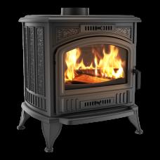 Чугунная печь-камин Kratki KOZA K6 Ø 130 TURBOFAN (8,0 кВт)
