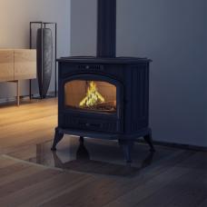 Чугунная печь-камин Kratki KOZA K6 Ø 150 (8,0 кВт)