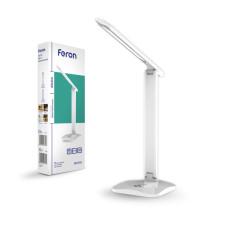 Настольный светодиодный светильник Feron DE1733 белый
