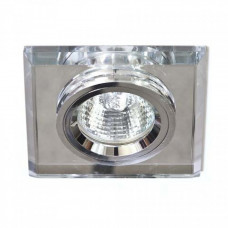 Встраиваемый светильник Feron 8170-2 серебро-серебро